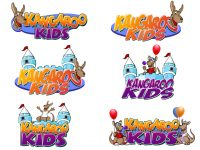 Kangaroo Kids Logo Design Concepts